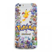 TPU skal, Pokemon Go Familjen, iPhone 6s Plus / 6 Plus