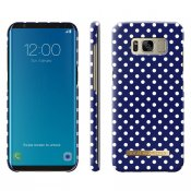 iDeal Fashion Case, Blue Polka Dots, Samsung Galaxy S8