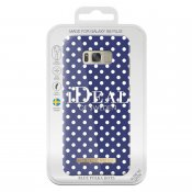 iDeal Fashion Case, Blue Polka Dots, Samsung Galaxy S8 Plus