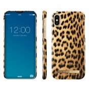 iDeal Fashion Case, Wild Leopard, magnetskal till iPhone 8