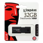 USB-minne, 32GB, Kingston DataTraveler 100 G3