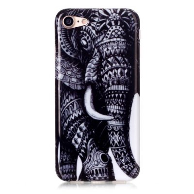 TPU skal, Mandala Elefant, iPhone 7