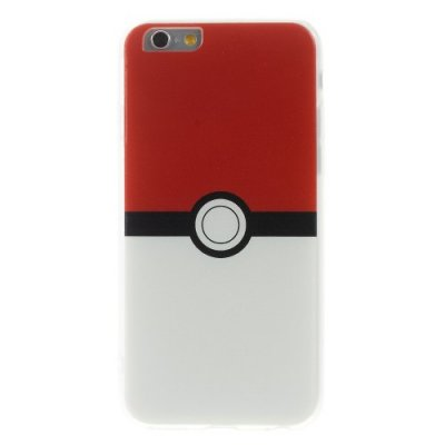 TPU skal, Pokemon Go Pokeball, iPhone 6s Plus / 6 Plus