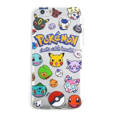 TPU skal, Pokemon Go, Catch Them All, iPhone 6s Plus / 6 Plus