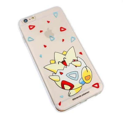 Transparent TPU skal, Pokemon Go Togepi, iPhone 6s Plus/6 Plus