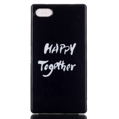 TPU skal,  Happy Together, Sony Xperia Z5 Compact
