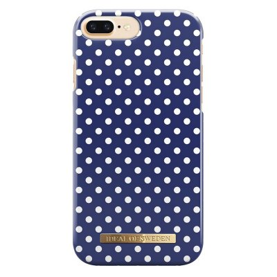 iDeal Fashion Case, Blue Polka Dots, magnetskal iPhone 7 Plus,