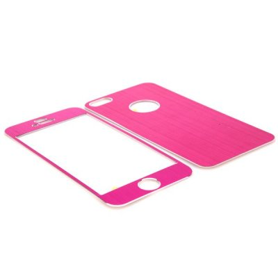 Ultratunt skin borstad metall rosa, iPhone 5