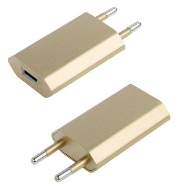 Strömadapter guld, iPhone 55S