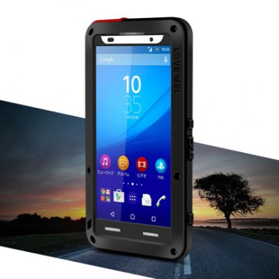 Love Mei Powerful Shockproof Aluminium, Sony Xperia Z3+