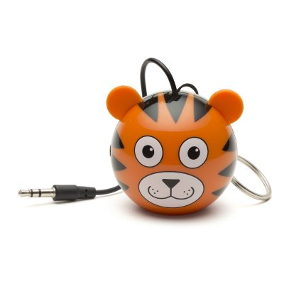 Kitsound högtalare 3,5mm, tiger