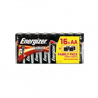 Energizer Alkaline Power batteri AA/LR6, 16-pack