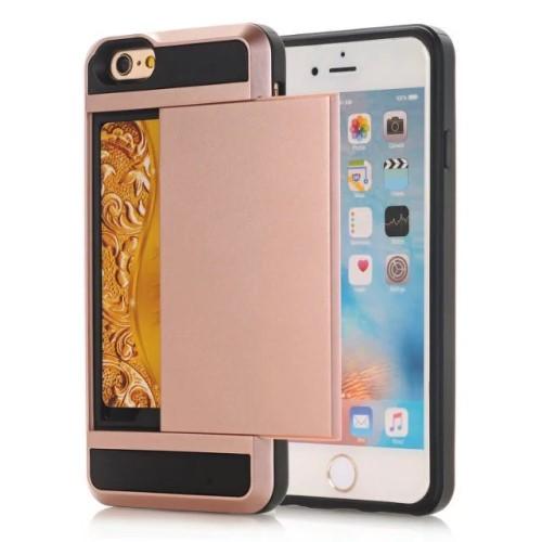 Iphone 7 Mobilskal Korthållare